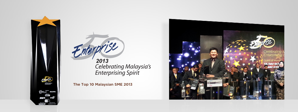 The Top 10 Malaysian SME 2013