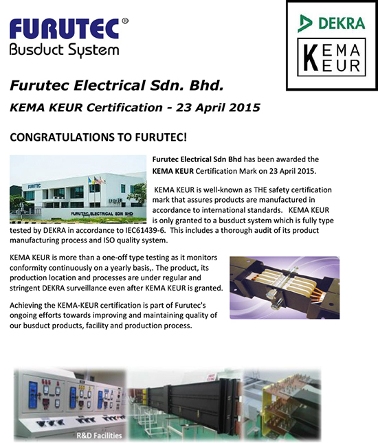KEMA Keur Certification - v1-1