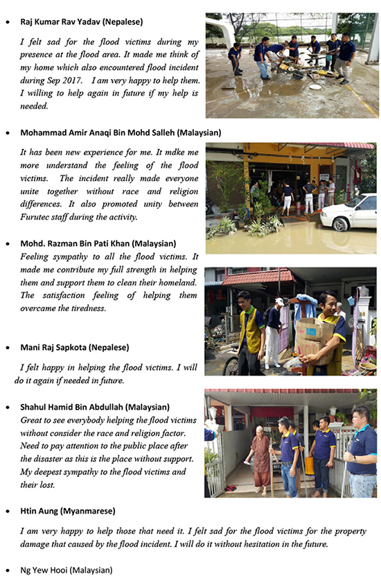 Furutec - CSR - Penang Flood-2